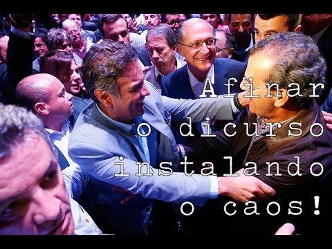 Geraldo Alckmin e Aécio Neves afinam discurso - Pensa by Fernando Worker