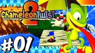 Chameleon Twist 2 | Part 1 - Sky Land | Nintendo 64