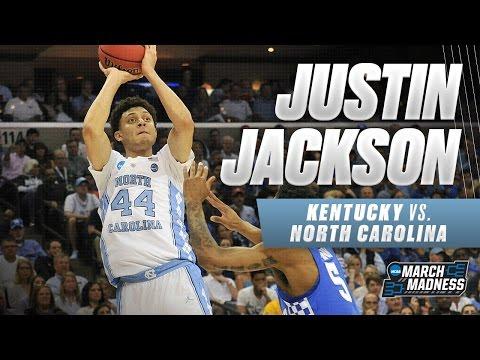 Kentucky vs. North Carolina: Justin Jackson leads Tar Heels with 19 points