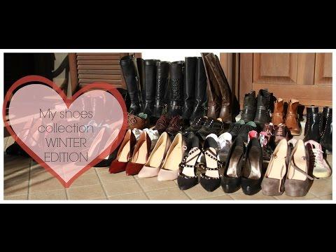 WINTER EDITION La mia collezione di scarpe   My shoes collection
