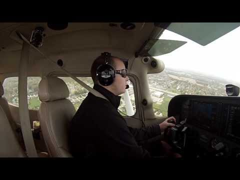 My First Solo! - Cessna 172 (GoPro HD)