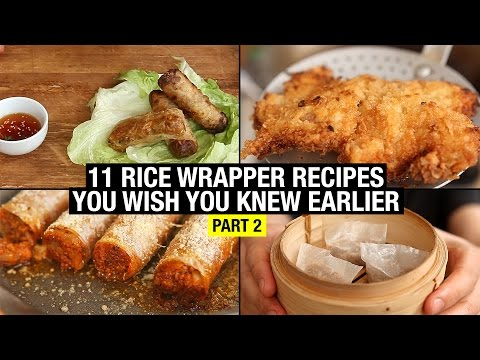 11 Recipes That Use Rice Paper Way Beyond Spring Rolls (part 2)