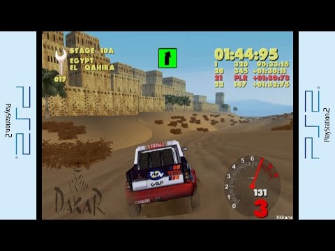 PS2 - Paris-Dakar Rally Gameplay P.10