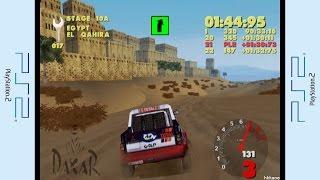 PS2 - Paris-Dakar Rally Gameplay P.10