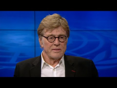 "Robert Redford: ""Climate change is in everybody's backyard"""