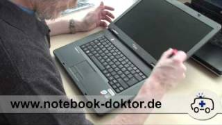 Tastatur Tausch & Blende Demontage (Notebook / Laptop)