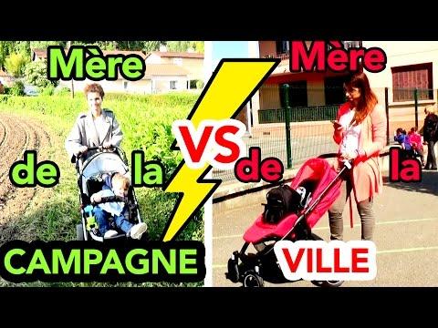 BATTLE DE MAMANS : VILLE VS CAMPAGNE - ANGIE LA CRAZY SÉRIE -