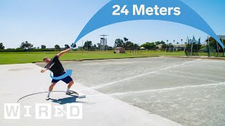 Download Why It's Almost Impossible to Shot Put 24 Meters | WIRED Mp3 and Videos
