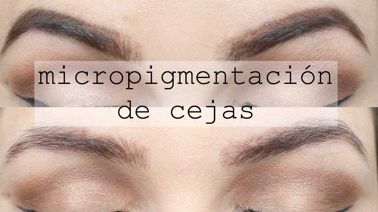 Update Meses Despues De La Micropigmentacion De Cejas Youtube