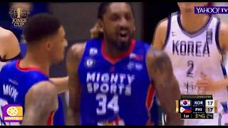 William Jones Cup 2019 Highlight Mighty Sports Philippines vs South Korea July 16,2019