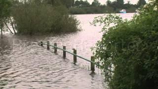 Hochwasser: Weser bei Langwedel und Achim über die Ufer getreten