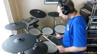 """Robert palmer """"Addicted to love"""" drum cover by Alayrac"""