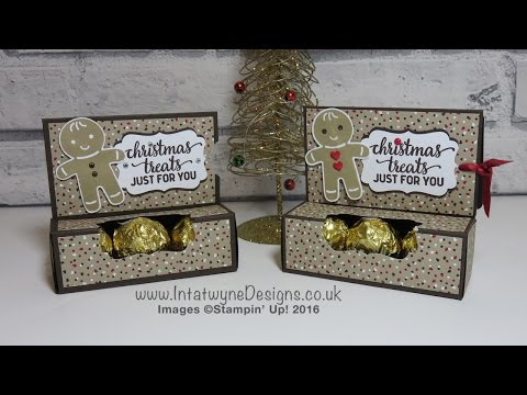 Crafty Christmas Countdown #4 - Gift Card Holder with Ferrero Rocher Chocolates