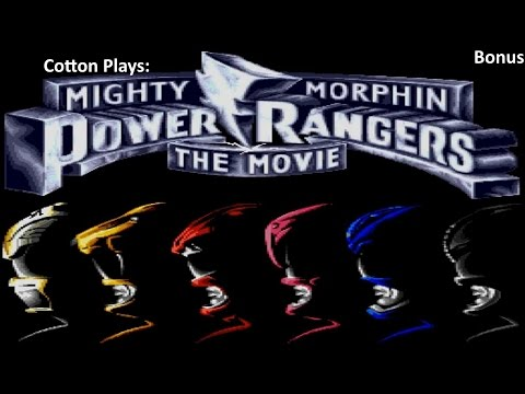 Cotton Plays: Mighty Morphin Power Rangers: the Movie Bonus