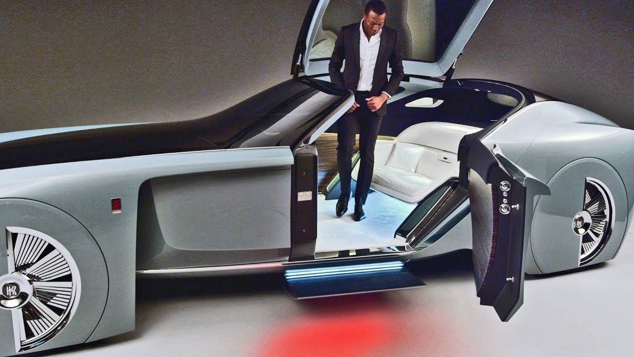 EXPERIENCE: 2016 Rolls-Royce 103EX Concept