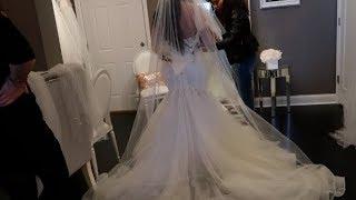 WEDDING DRESS SHOPPING VLOG!