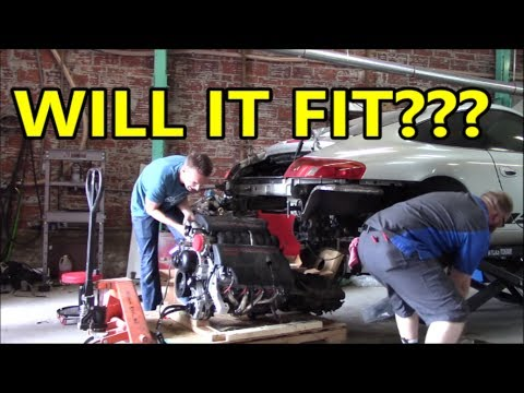 Will it Fit??? LS-Swapping a 911: Part 2