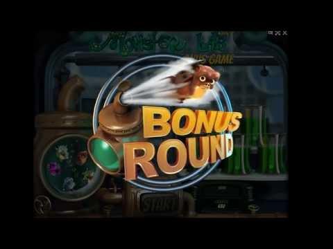 MONSTER LAB +BONUS ROUND! +SUPER BIG WIN! online free slot SLOTSCOCKTAIL hhs