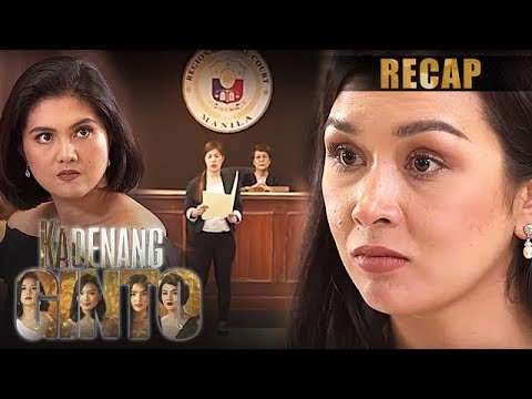 Download Romina is proven innocent by the court | Kadenang Ginto Recap (With Eng Subs)
