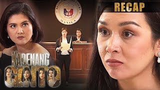 Download Romina is proven 'innocent' by the court | Kadenang Ginto Recap (With Eng Subs) Mp3 and Videos