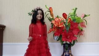 6летняя девочка из Узбекистан поёт песню Celine Dion из фильма Titanic. очень красиво и без акцента.