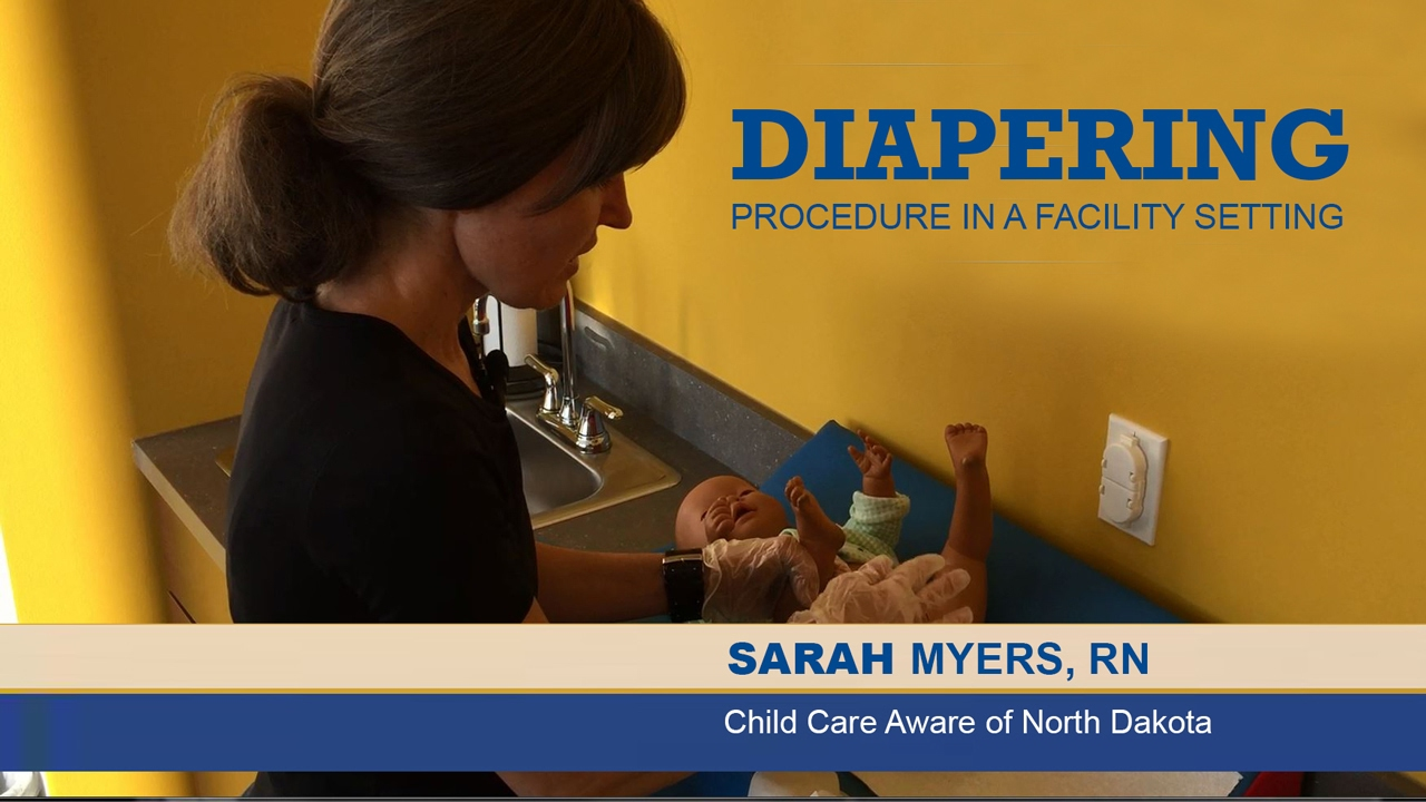 Diapering In A Child Care Facility Youtube