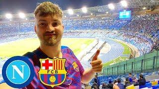Neapel - FC Barcelona   Mein erstes Mal im Auswärtsblock 🔥   Stadionvlog - ViscaBarca