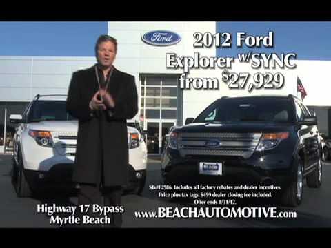 Myrtle Beach Ford >> Beach Automotive Beach Ford January 2012 Commercial Myrtle Beach Sc
