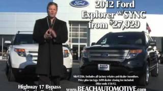 Beach Automotive / Beach Ford January 2012 Commercial Myrtle Beach, SC thumbnail