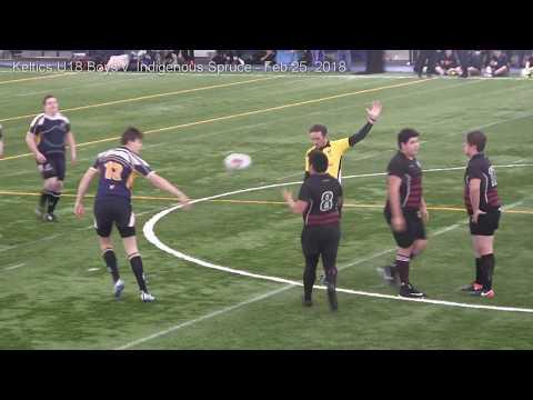 Keltics U18 Boys v. Indigenous Spruce - Fear the Spear 2018