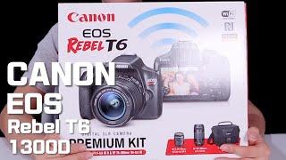 캐논 EOS Rebel T6/1300D Premium …