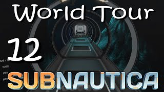 "Subnautica - World Tour - Ep 12 ""Sea Base in a Cave!"""