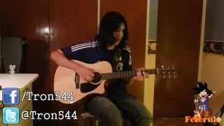 The Beginning Acoustic Ver ONE OK ROCK CHORDS by Fefe
