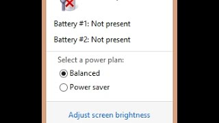 No Battery is Detected / Plugged in, Not Charging - 4 Ways To Fix - Windows 7,8,10 Solved