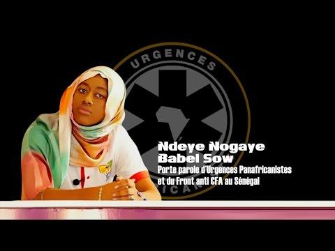 FRONT ANTI CFA : Ndeye Nogaye Babel Sow met les points sur les « I »