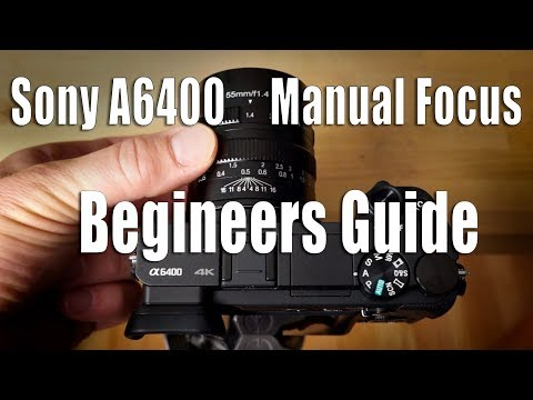 Sony A6400 - Using Manual Focus Lenses - Beginners Guide