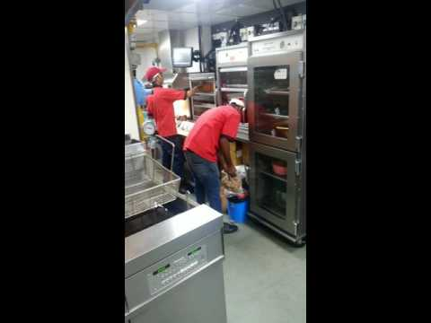 Do not visit any kfc in mumbai. Must watch kfc staff using chicken from dustbin