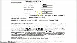 How to Fill out a Real Estate Contract for Wholesaling Houses FlipMan.net
