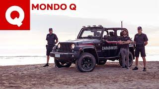Tutti I Segreti Della Jeep Wrangler Dei Carabinieri  + Fermo In Diretta