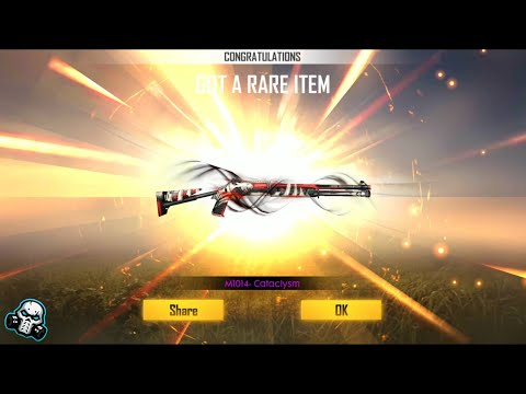 FREEFIRE New Weapon Permanent Skin M1014 Cataclysm From Weapon Royal Trick ???