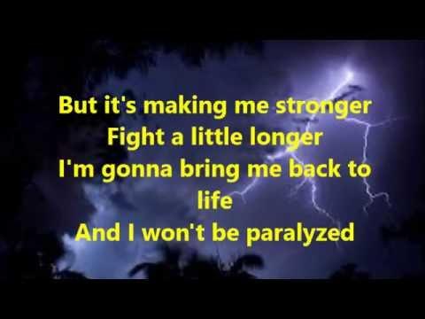 Against The Current: Paralyzed Lyrics