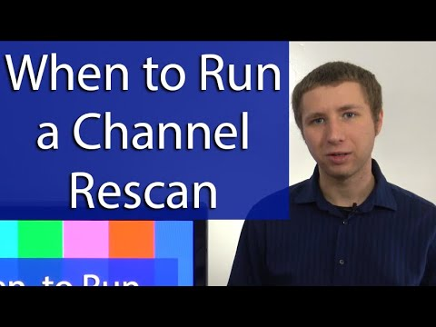 When To Run A Channel Rescan On Your TV Set (and When Not)