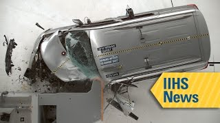Most Minivans Struggle With Small Overlap Front Crash Test - Iihs News