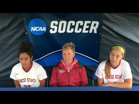 Chico State Women's Soccer Press Conference - 11/10/17