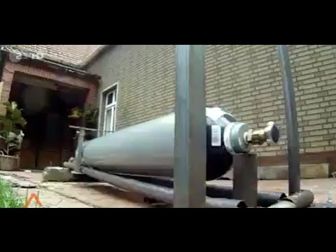 Gas cylinder regulator gets snapped off
