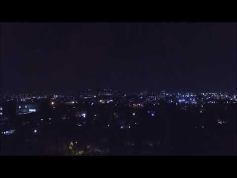Johannesburg at Night - Phantom 3