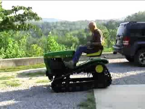 John Deere Custom Built Track Vehicle Youtube