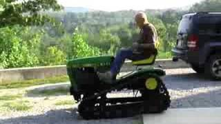 John Deere Custom Built Track Vehicle
