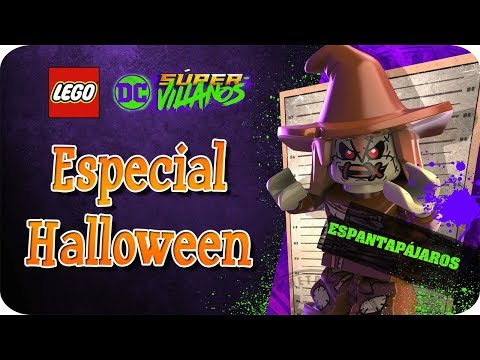 """🎃 [Especial Halloween] LEGO DC Súper Villanos [Guía Modo Libre al 100%] Capitulo 7 """"Arkham"""" 🎃"""