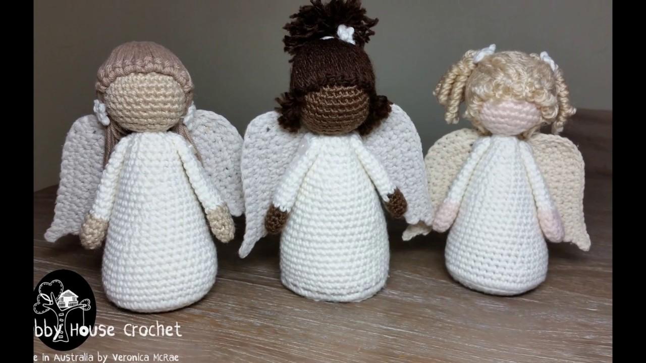 Amigurumi Crochet Angel Pattern | Supergurumi | 720x1280